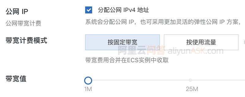 阿里云服务器公网IP
